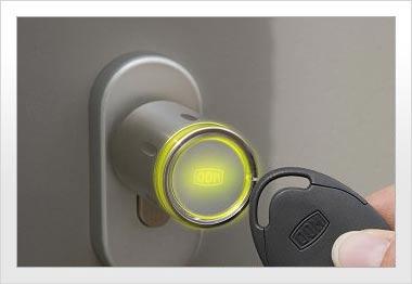 elektronik zylinder schlie systeme haus f r sicherheit. Black Bedroom Furniture Sets. Home Design Ideas